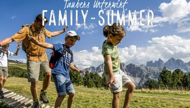 Family Vacation at the Taubers Unterwirt